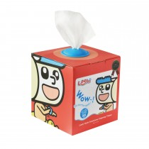 【Leshi樂適】嬰兒乾濕兩用布巾/護理巾-抽取式單盒入 (100抽)